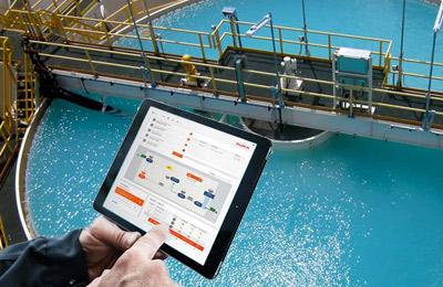 Operação remota através de tablet